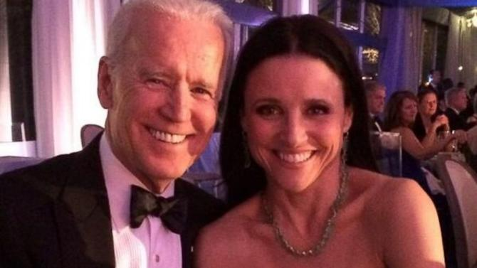 'Veep' Meets the VP: Julia Louis-Dreyfus as Joe Biden's Date