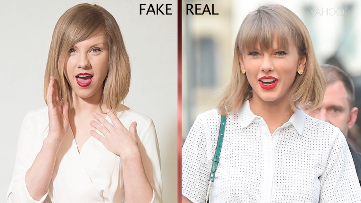 Taylor Swift 'twin' cashing in on her appearance