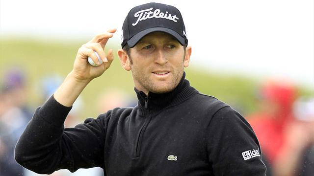 Golf - Bourdy takes lead at Alfred Dunhill