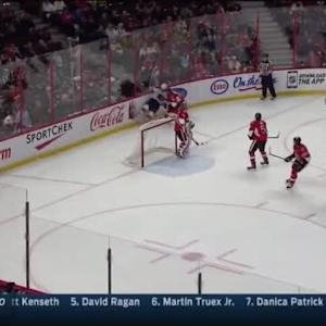 Mark Borowiecki Hit on Aleksander Barkov (11:12/3rd)