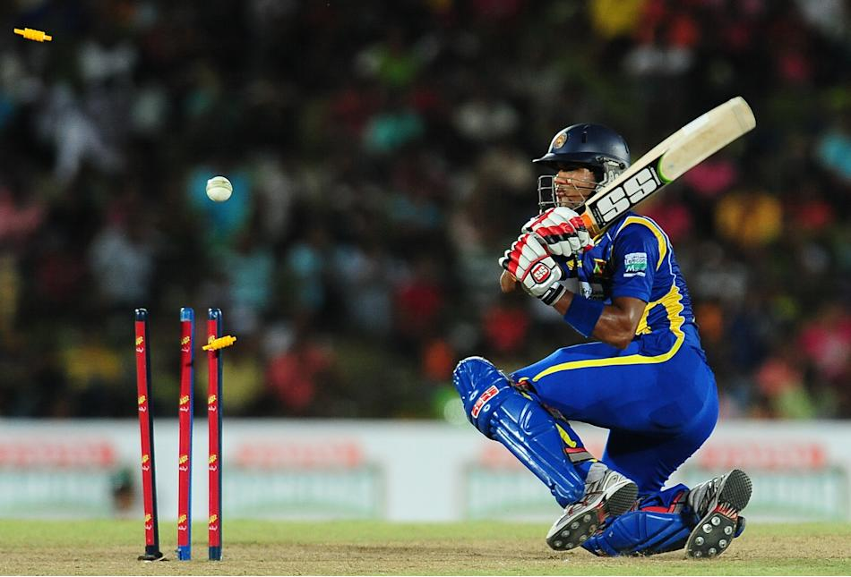 Sri Lanka's cricketer Dinesh Chandimal g