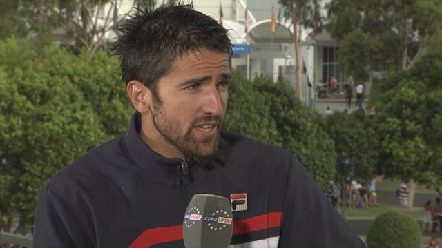 Australian Open - Four seasons in one day for Tipsarevic
