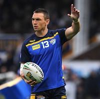 Kevin Sinfield is ready to lead his side out at Old Trafford