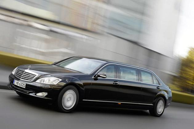 The Mercedes-Benz S 600 Pullman Guard