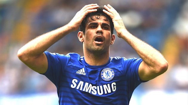 Diego Costa of Chelsea (Getty)