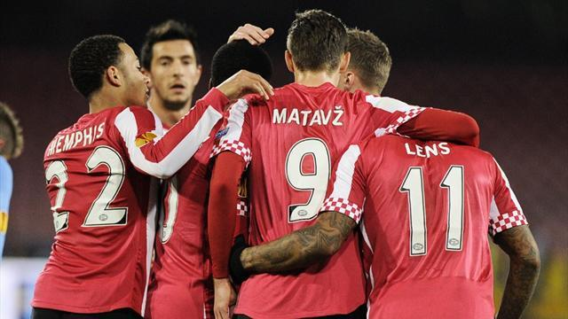 World Football - Dutch Cup holders PSV cruise into quarters
