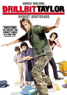 DVD box art for Paramount Pictures' Drillbit Taylor