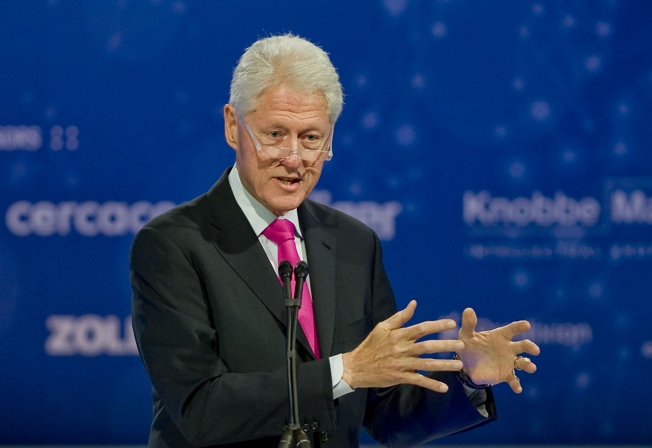 If Hillary Clinton becomes president, Bill wants to be called 'Adam'