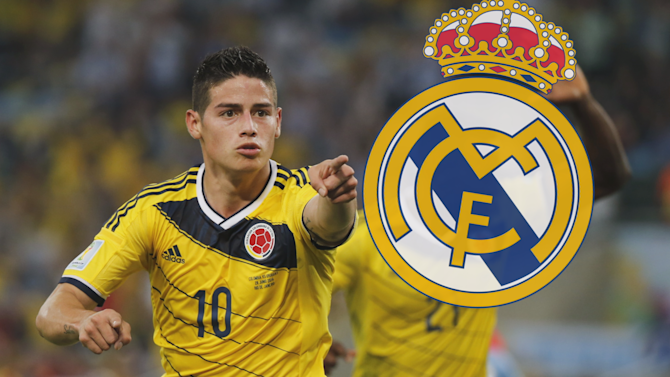 Liga - Real Madrid confirm signing of James Rodriguez