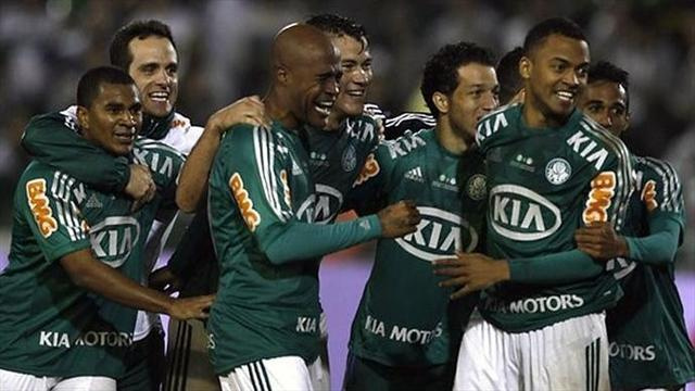 World Football - Copa Brasil holders Palmeiras relegated for second time