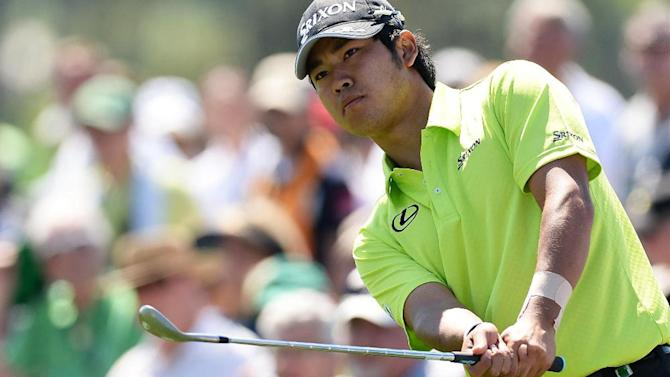 Golf - Japan's Matsuyama wins Memorial in play-off over Na