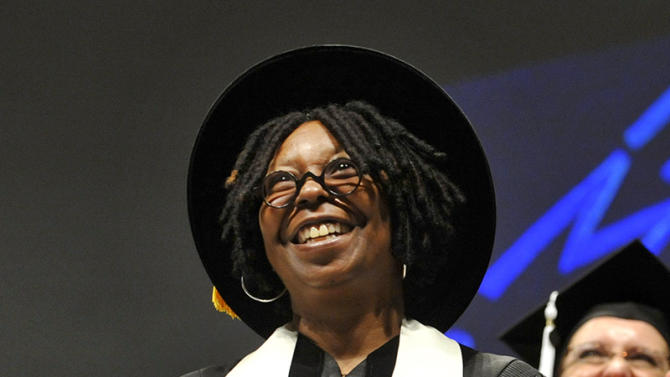 Whoopi Goldberg Speaks At The 2011 Savannah College Of Art And Design Graduation Ceremony