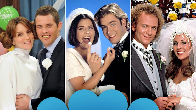 Memorable TV Weddings