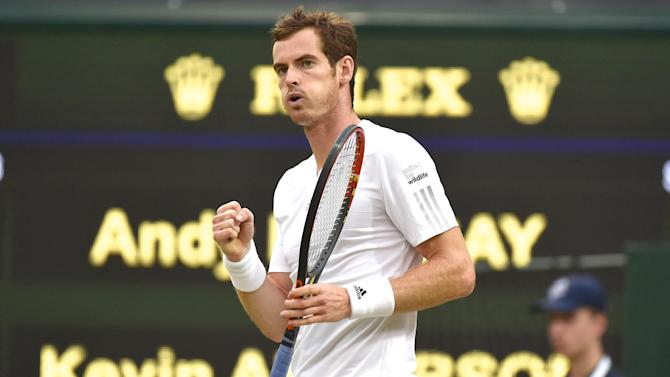 Wimbledon - Perfect Andy Murray despatches Anderson to reach last eight