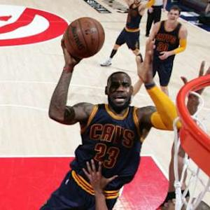 LeBron Leads Cavs to 2-0 Series Lead
