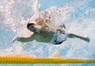 US swimmer Ryan Lochte competes in the men's 200m individual medley final swimming event at the London 2012 Olympic Games in London. Lochte's London Olympics ended with a whimper on Thursday as a brutal backstroke-medley double failed to yield gold and he succumbed yet again to old foe Michael Phelps
