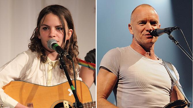 Coco Sumner and Sting