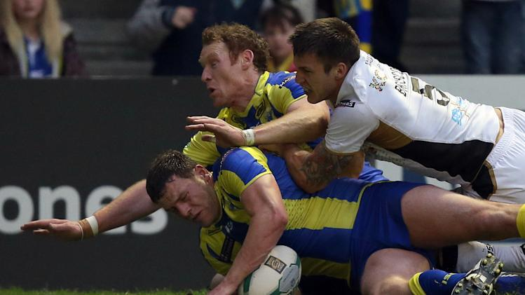 Rugby League - Super League - Warrington Wolves v Hull FC - Halliwell Jones Stadium