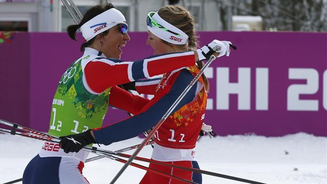 Cross-Country Skiing - Finns win men's race despite German protest, Norway claim women's