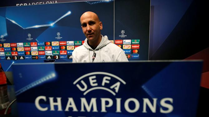 Football Soccer - Borussia Moenchengladbach news conference - UEFA Champions League