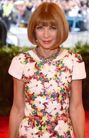 Anna Wintour Met ball 2013