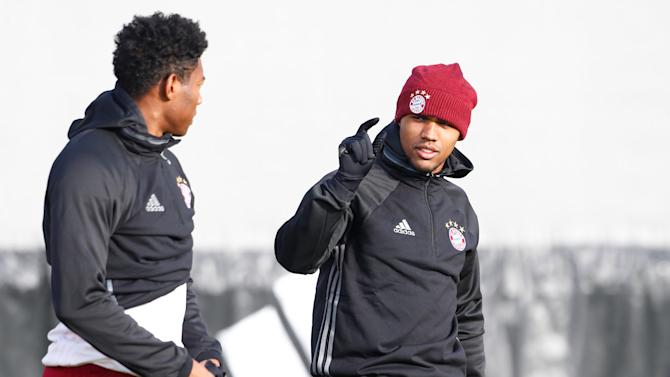 Football Soccer - Bayern Munich training - UEFA Champions League Group Stage - Group D