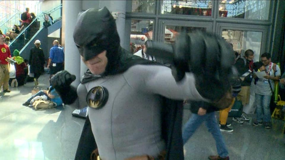 Classic Batman Cosplayer Talks Superhero History