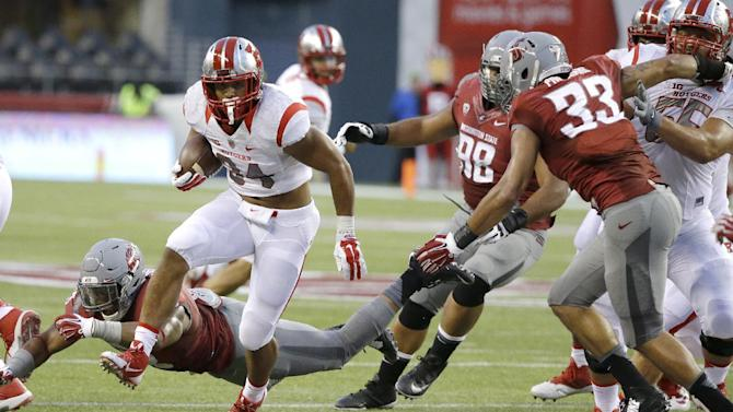 Rutgers RB Paul James in gear after leg injury