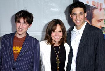 Premiere: Sally Field and sons at the Westwood premiere of New Line Cinema's Monster-In-Law - 4/29/2005