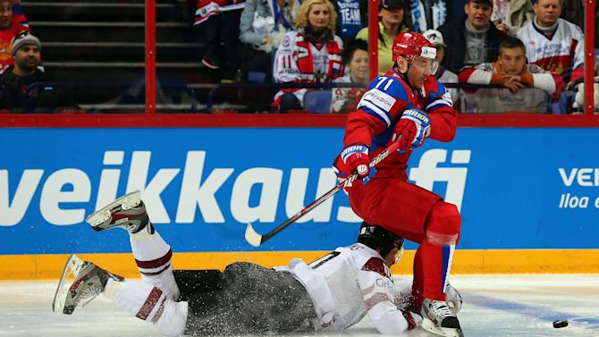 Russia v Latvia - 2013 IIHF Ice Hockey World Championship