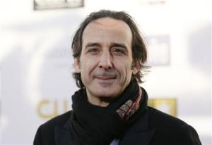 File photo of composer Desplat arriving at the 2013 Critic's Choice Awards in Santa Monica