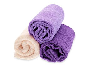 How can I avoid fuzz balls on my towels?