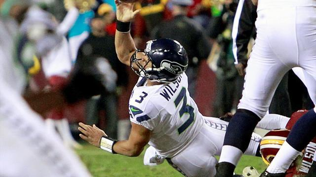 American Football - Seahawks rally to beat Redskins, Griffin injured
