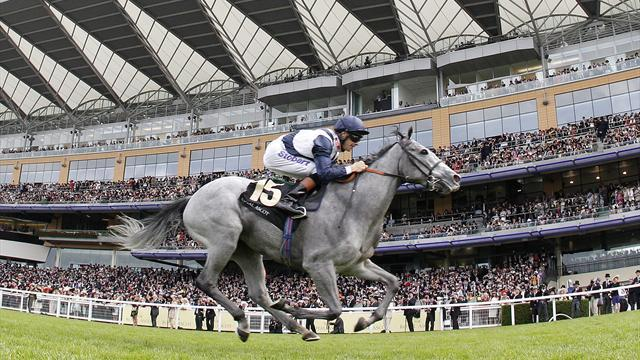 Horse Racing - Sky Lantern wins Coronation Stakes at Royal Ascot