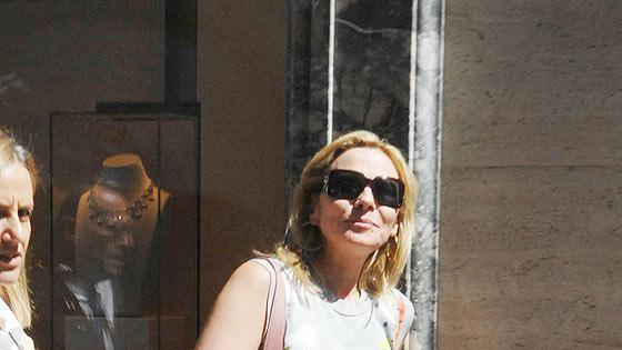 Cattrall Kim Shppng Italy