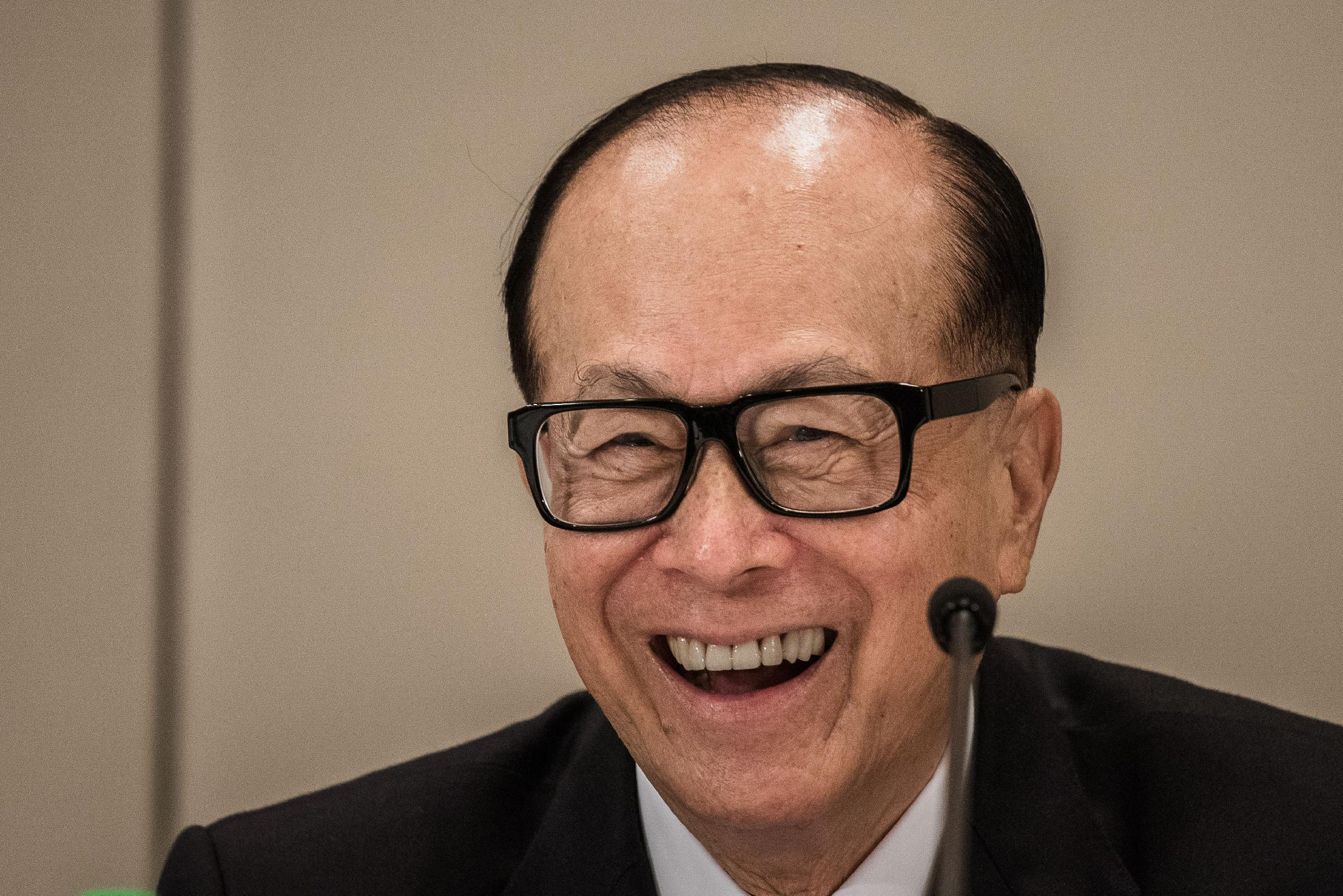 Hong Kong billionaire Li Ka-shing bets on Europe as China slows