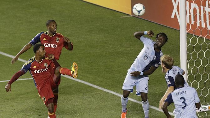 MLS Sporting Kansas City Real Salt Lake Soccer