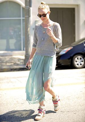 Kate Bosworth Steps Out in $760 Velcro Sneakers