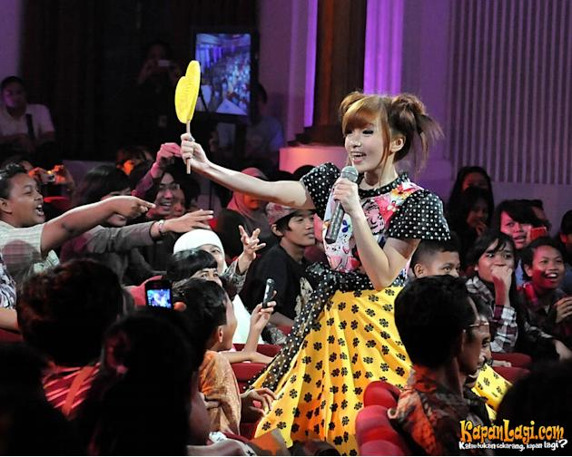 Cherry Belle di konser Lampion 100 % Bangkit