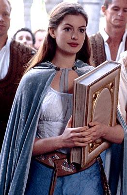Anne Hathaway as Ella in Miramax's Ella Enchanted