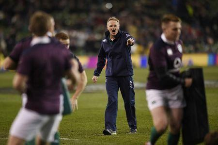 Ireland head coach Joe Schmidt before the match
