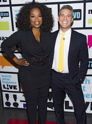 Oprah Winfrey and Andy Cohen on Bravo's 'Watch What Happens Live' -- Bravo