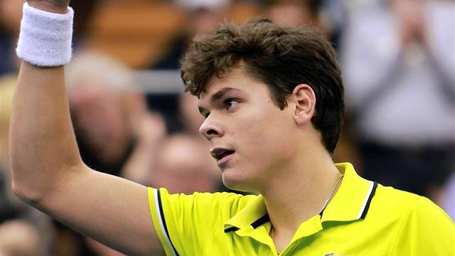 Tennis - Raonic wins third straight San Jose title