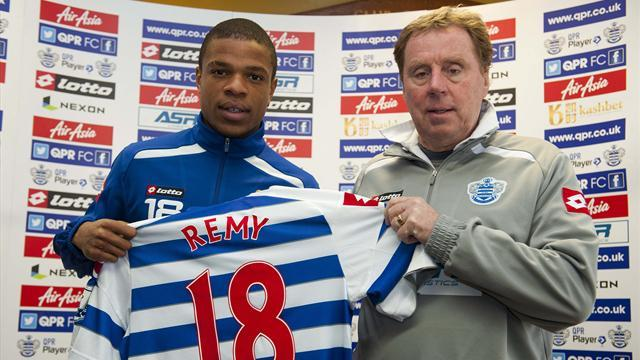 Football - Redknapp positive about Remy