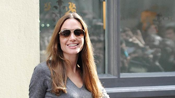 Angelina Jolie West End London
