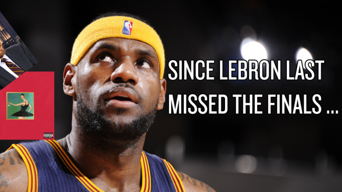 10 ways the world changed since LeBron James last missed the NBA Finals
