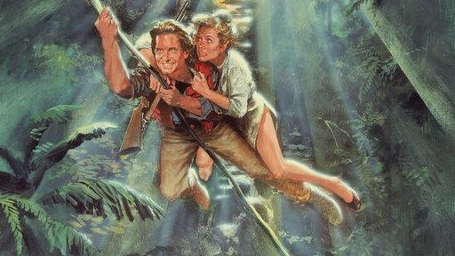 ET Flashback: Michael Douglas Talks Sex Scene Awkwardness in 'Romancing the Stone'