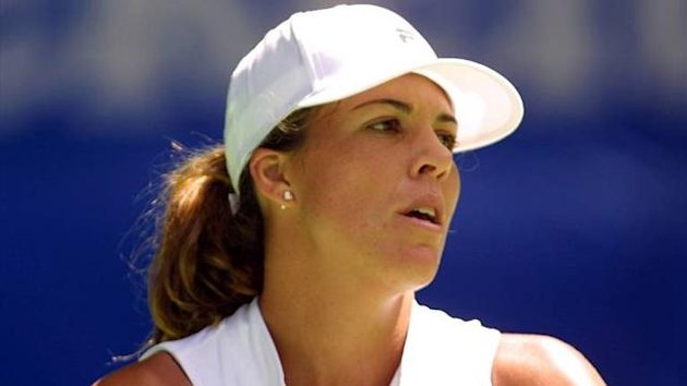 Slide Melbourne 2001 Jennifer Capriati