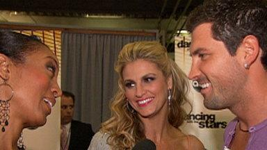 Erin Andrews on 'Dancing': I Want to Be in the Finals