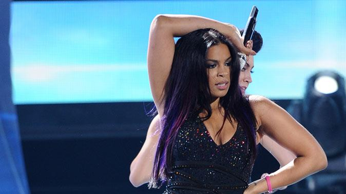"Jordin Sparks performs ""I Am Woman"" on ""American Idol."""